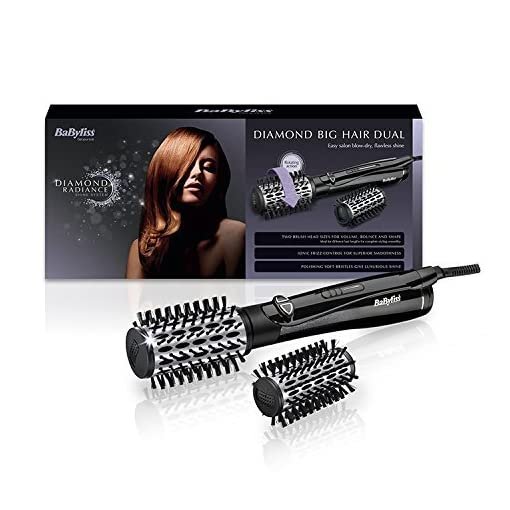 babyliss diamond - 51mIxzLxCEL - Babyliss Diamond Big Hair Dual Replacement Brush Head – 50 and 42 mm