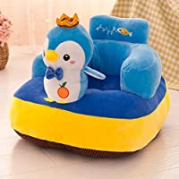 XuBa Learning Chair Baby Sofa Seat Child Dining Chair Anti-Rollover Detachable Children Stuffed Seat Gag Gifts for Kids