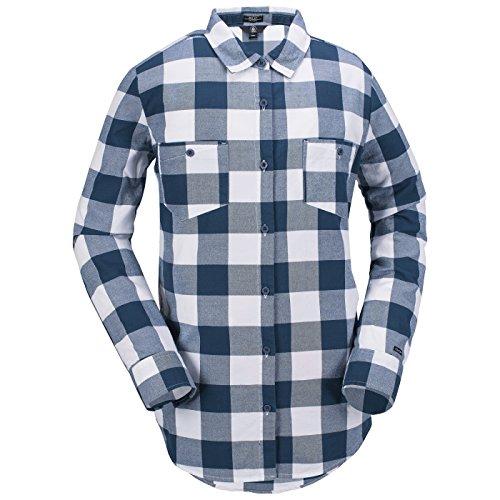 Damen Hemd lang Volcom Granite Flannel Shirt (Volcom Damen Hemd)