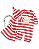 The Essential One - Mummys Little Pudding Christmas Baby Suit / Hat EO52