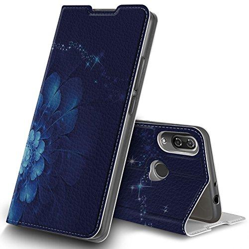 Wiko View 2 Hülle, GeeMai Premium Flip Case Tasche Cover Hüllen mit Magnetverschluss [Standfunktion] Schutzhülle Handyhülle für Wiko View 2 Smartphone, CH09