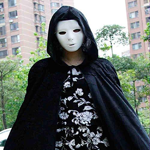 Michael Myers Halloween Dekoration - PIYTNK Halloween PVC Maske Ritter Ghost
