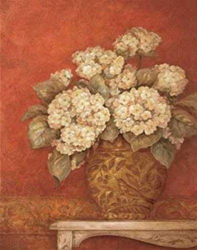 The Poster Corp Pamela Gladding - Villa Flora Hydrangeas Kunstdruck (55,88 x 71,12 cm) -