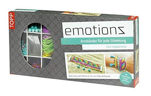 Emotionz Armbänder Set Happiness: Anleitung und Material für (Multi Armband Perlen)