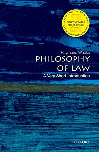 Philosophy of Law: A Very Short Introduction 2/e (Very Short Introductions)