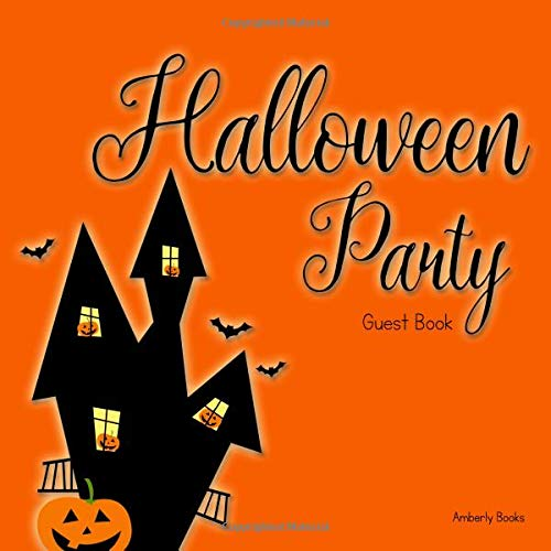 Halloween Party Guest Book (Science Halloween Special Spooky)
