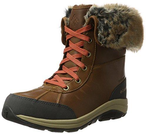Columbia Bangor Omni-Heat, Stivali da Neve Donna Marrone (Elk/ Rusty)