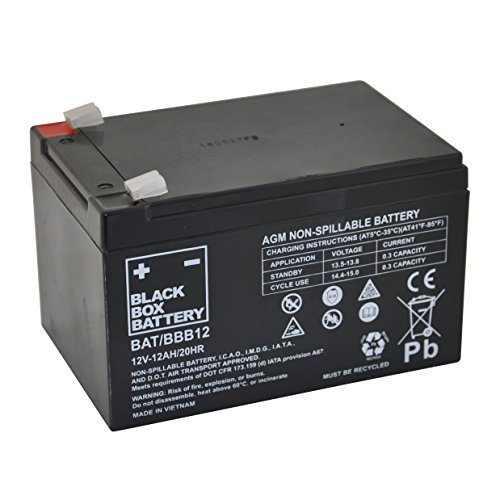 12V 12Ah BBB Sealed Lead Acid (AGM) Mobility Scooter Battery