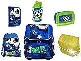 SCOOLSTAR Fußball Schulranzen Jungen 1 Klasse Tornister Schulrucksack Schultasche