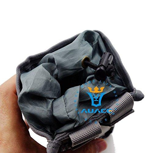 Multifunktions Survival Gear Tactical Beutel MOLLE Beutel Wasserdicht isoliert Wasser Flasche Tasche, Outdoor Camping Tragbare Wärme kalt Wasser Flasche Tasche ACU