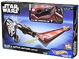 Hot Wheels Star Wars Lightsaber Blast & Battle - Kylo Ren Vehicle Launcher