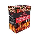 Tom Cococha Rot- 10kg Kokos-Grillbriketts