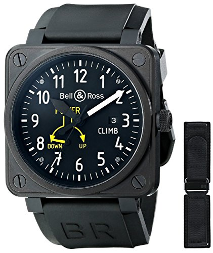 Bell and Ross BR01-97CLIMB - Reloj para hombres color negro