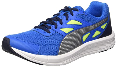 Puma Driver Sneaker Blu (Electric Blue Lemonade/Argento/Safety Yellow)