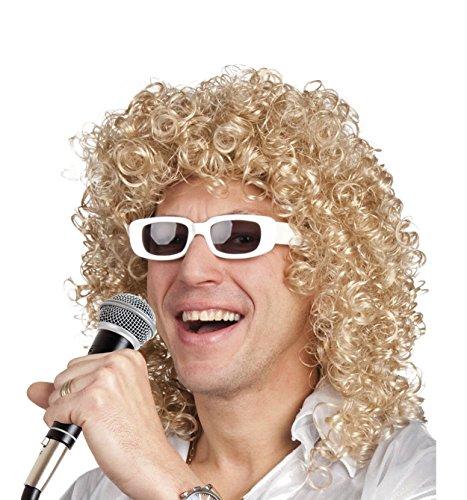 Boland 86404 Erwachsenenperücke Singer mit Brille, One Size