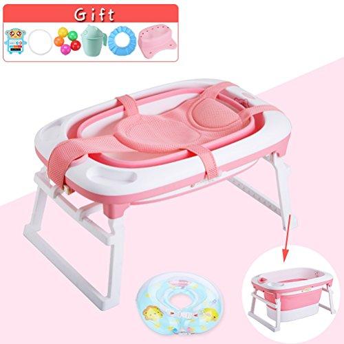 CLOTHES UK- Baby Badewanne falten Kinder Bad Eimer Badewanne Baby Pool Deluxe Neugeborenen zu Kleinkind Wanne kann sitzen und hinlegen Multifunktions Badewanne (größe : G)