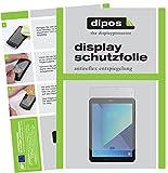 dipos I 2X Schutzfolie matt passend für Samsung Galaxy Tab S3 Folie Displayschutzfolie