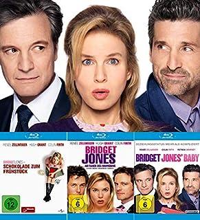 Bridget Jones - Schokolade zum Frühstück + Am Rande des Wahnsinns + Baby | Kein-Box-Set (Blu-ray)