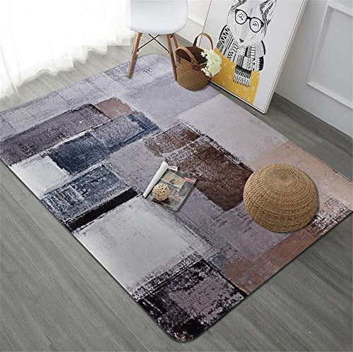 Mengjie tappeto di design moderno velluto di cristallo quadrato colorato per soggiorno,tappetino per il letto, divano,120 * 180cm