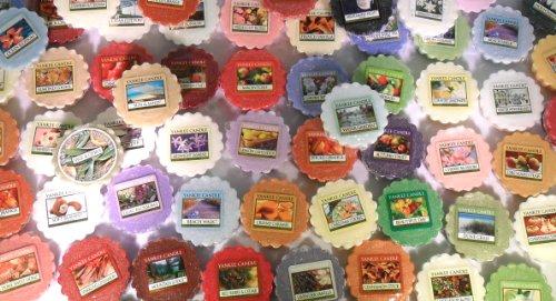 Yankee Candles® - Pack de 5 Bougies Parfumées en Cire sans Mèche - Différents Parfums - Design Tartelettes