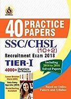 SSC CHSL (10+2) 40 PRACTICE PAPER 2018