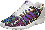 adidas ZX Flux Sneaker Damen - Off White/Mid Grape, 5.5 UK - 38.2/3 EU