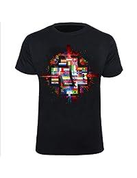 """Rammstein T-Shirt """"Flaggen"""""""