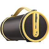 Imperial BEATSMAN Mobiler Bluetooth Lautsprecher mit UKW Radio (2.1 Lautsprecher, Bluetooth 2.1, UKW Radio, MicroSD Kartenleser) (Zertifiziert und Generalüberholt), Farbe:gelb