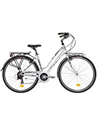 citybike atala Discovery, 21 vitesses, couleur gris Ultralight – Anthracite Taille S (jusqu'à 160 cm)