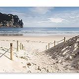 murando - Fototapete 300x210 cm - Vlies Tapete - Moderne Wanddeko - Design Tapete - Wandtapete - Wand Dekoration - Strand Natur Himmel See c-B-0028-a-a