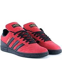 low priced 977e0 645d7 adidas Skateboarding Busenitz, Scarlet-Core Black-Gold Metallic