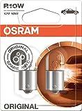 OSRAM ORIGINAL R10W Halogen, Schluss-, Kennzeichen-, Park- und Positionslicht, 5008-02B, 12V PKW, Doppelblister (2 Stück)