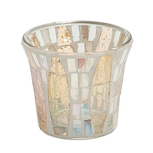 Yankee Candle Limited Edition Gold Wave Mosaic Accessory Collection (Votive Holder)