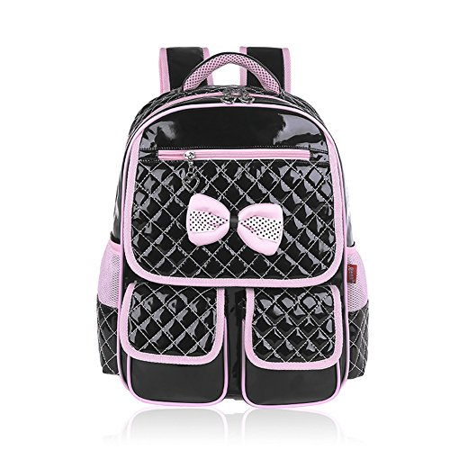 gudehome-impermable-sac-dos-scolaire-ecole-primaire-fille-cuir-nud-deux-boucles