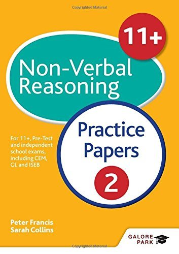 11+ Non-Verbal Reasoning Practice Papers 2: For 11+, pre-test and independent school exams including CEM, GL and ISEB by Peter Francis (2016-05-27)