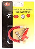 HONOR LOT DE 5 PIECES AIGUILLES POMPE A BALLON/FOOTBALL / BOUEE EN MÉTAL INOXYDABLE