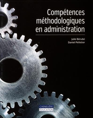 Compétences méthodologiques en administration par Julie Bérubé