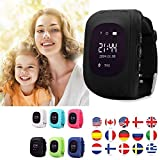 TKSTAR Niños Smart Watch Phone GPS reloj inteligente impermeable...
