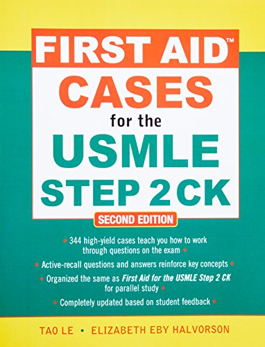 First aid cases for the USMLE step 2 CK (Medicina)