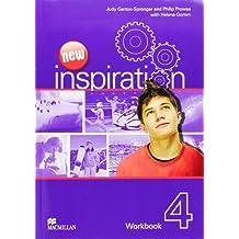 New Inspiration Level 4: Workbook by Judy Garton-Sprenger (2012-02-06)