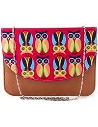ShopMantra Women Multi-Color Printed Sling Bag - B078N8DPWX