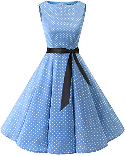 Bbonlinedress 50s Vestidos Vintage Retro Rockabilly