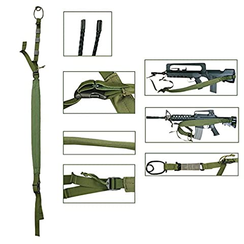 Sangle bretelle pour arme ISTC Bulldog Tactical (Vert)