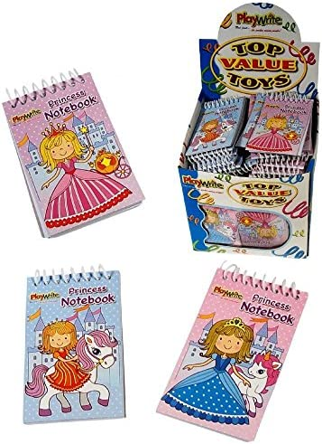 Playwrite Lot de de de 6 mini-carnets à spirales Motif princesse 1153ec