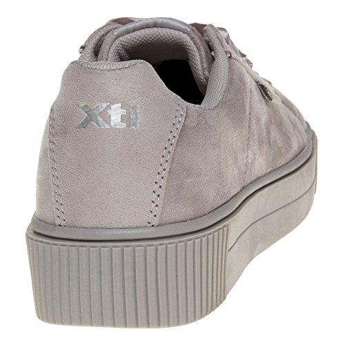 Xti 046801, Chaussures femme Gris (Grey)