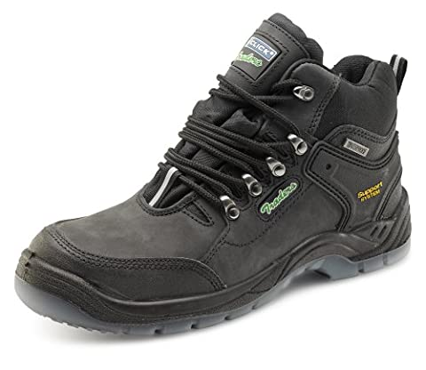 Click Waterproof Breathable Safety Hiker Boot Black