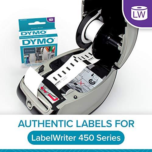 54 mm x 101 mm DYMO LW Etichette per spedizioni Grandi 12 Rotoli da 220 Etichette Facilmente Staccabili Autoadesive per Etichettatrici LabelWriter Originali