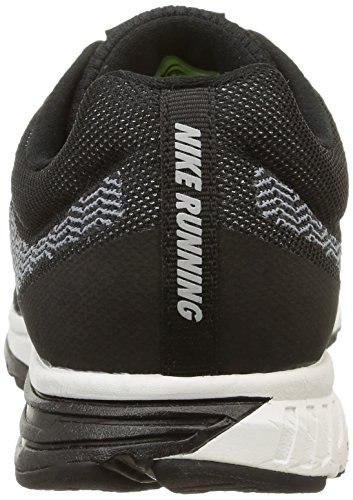 Nike Air Zoom Fly 2, Scarpe sportive, Uomo Negro / Blanco / Azul (Black / White-Cool Blue)