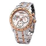 Time W70003G.03A - Orologio da polso da uomo, cinturino in acciaio inox