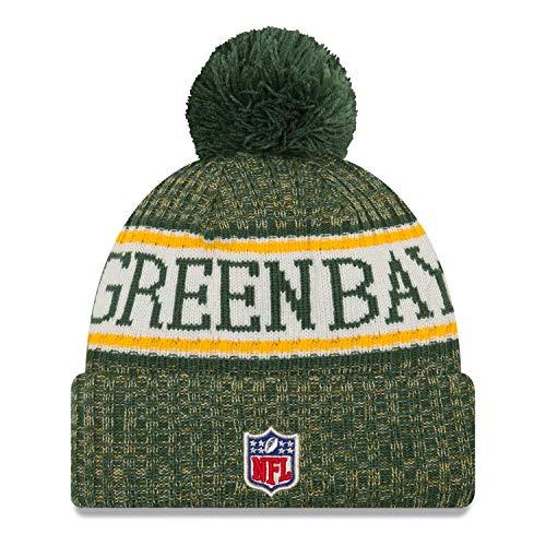 Imagen de a new era gorro tejido con pompón nfl green bay packers verde  talla única alternativa